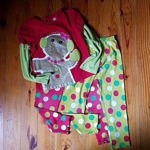 J. Khaki Christmas Outfit
